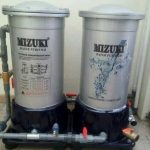 instalasi mesin saringan air